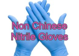 Non Chinese Nitrile Gloves